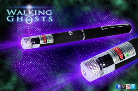 Ultraviolet, UV  Laser Matrix Grid Pen Projector Ghost Hunt Paranormal Tool